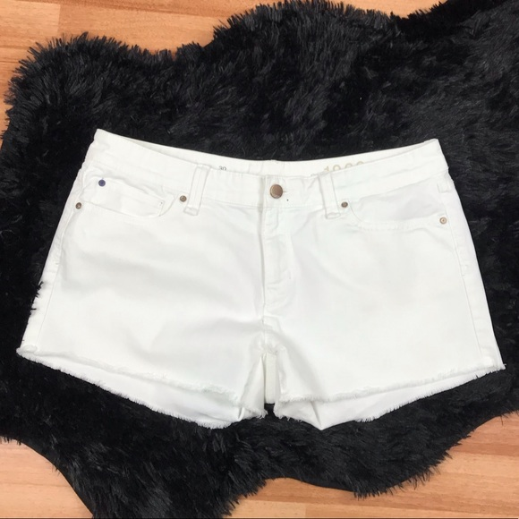 892bd5a2a8 GAP Shorts | 325 Summer Cut Off White Denim | Poshmark